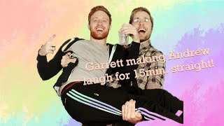 Garrett Watts making Andrew Siwicki laugh for 15min straight - Part 1