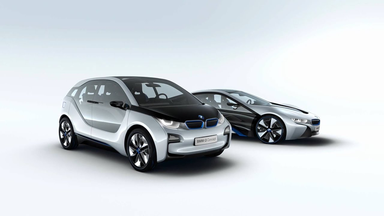 World Debut Of BMW I8 And I3 Concept Cars