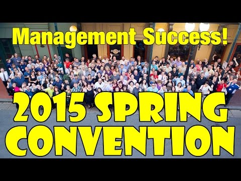 Management Success! Spring 2015 Convention in New Orleans, Louisiana