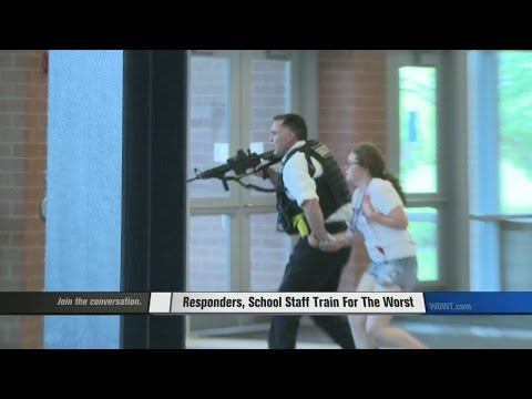 Sarpy County Trains for The Worst in Mock Shooting Drill