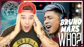 "Kris Lawrence covers ""Versace on the Floor"" (Bruno Mars) LIVE on Wish 107.5 Bus REACTION"