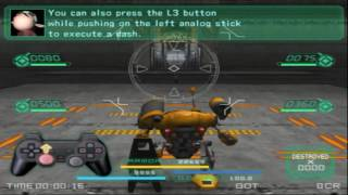 S.L.A.I. - Steel Lancer Arena International via PCSX2 (720p, 60fps)