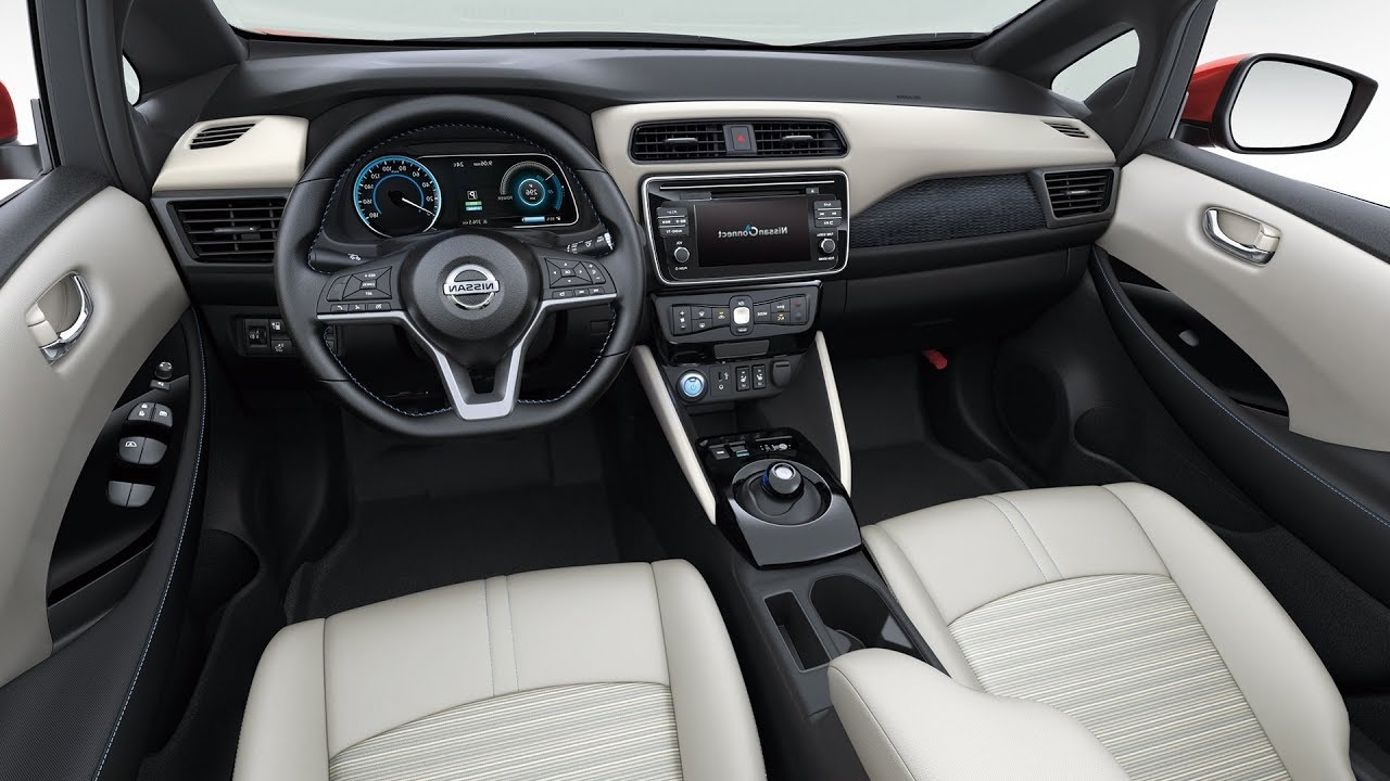2018 nissan interior. modren interior 2018 nissan leaf  interior for nissan interior