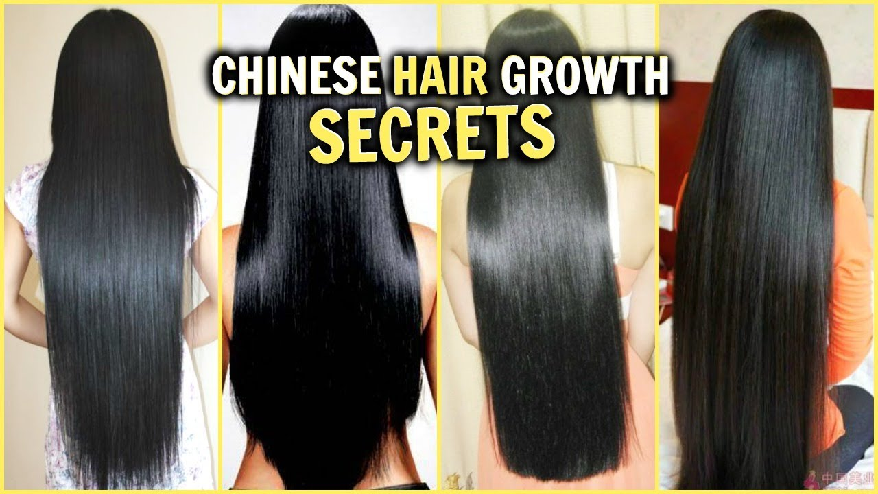 CHINESE HAIR GROWTH SECRETS! │HOW TO GROW LONG THICK SHINY ...