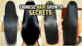 Chinese Hair Growth Secrets How Grow Long Thick Shiny Glossy Hair Fastrice Water Diys Mo