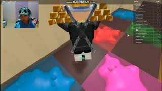 Batle Parkour with SIMEONG GAMERZ who wins?? ROBLOX Escape Grandma Obby Indonesia