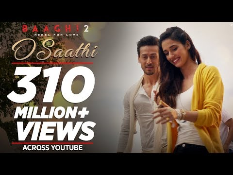 O Saathi Video Song | Baaghi 2 | Tiger...