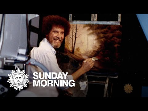 The enduring popularity of artist Bob Ross
