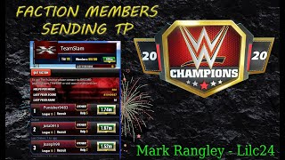 How to Get TP From Your Faction Mates!!!- WWE Champions - ????