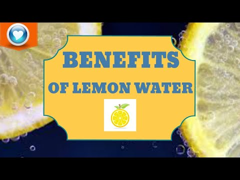15 Benefits Of Drinking Lemon Water In Morning Empty Stomach!