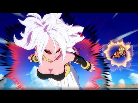 All Android 21 Alluring Noises💗 - Dragon Ball FighterZ
