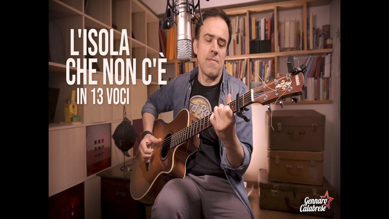 L'ISOLA CHE NON C'E'...IN 13 VOCI. #Imitazioni #Musica