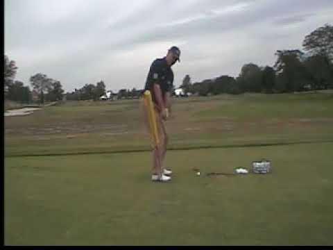 Sam Mckenney Golf Academy Club position for a pitc...