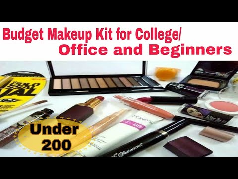 complete beginners makeup kit under rs 250  affordable