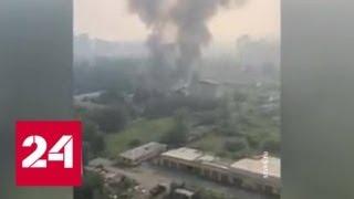 В Красноярском крае горит 270 гектаров тайги - Россия 24