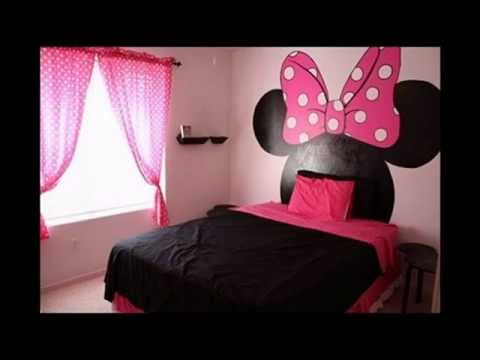 21 Cute Minnie Mouse Bedroom Decorating Ideas