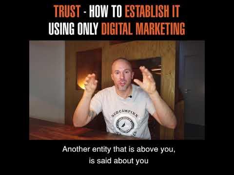Trust - How to establish it, using only digital marketing?   Felix Beilharz in Belgrade