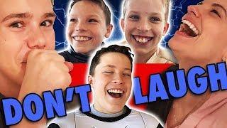 Ninja Kidz Try not to Laugh Challenge