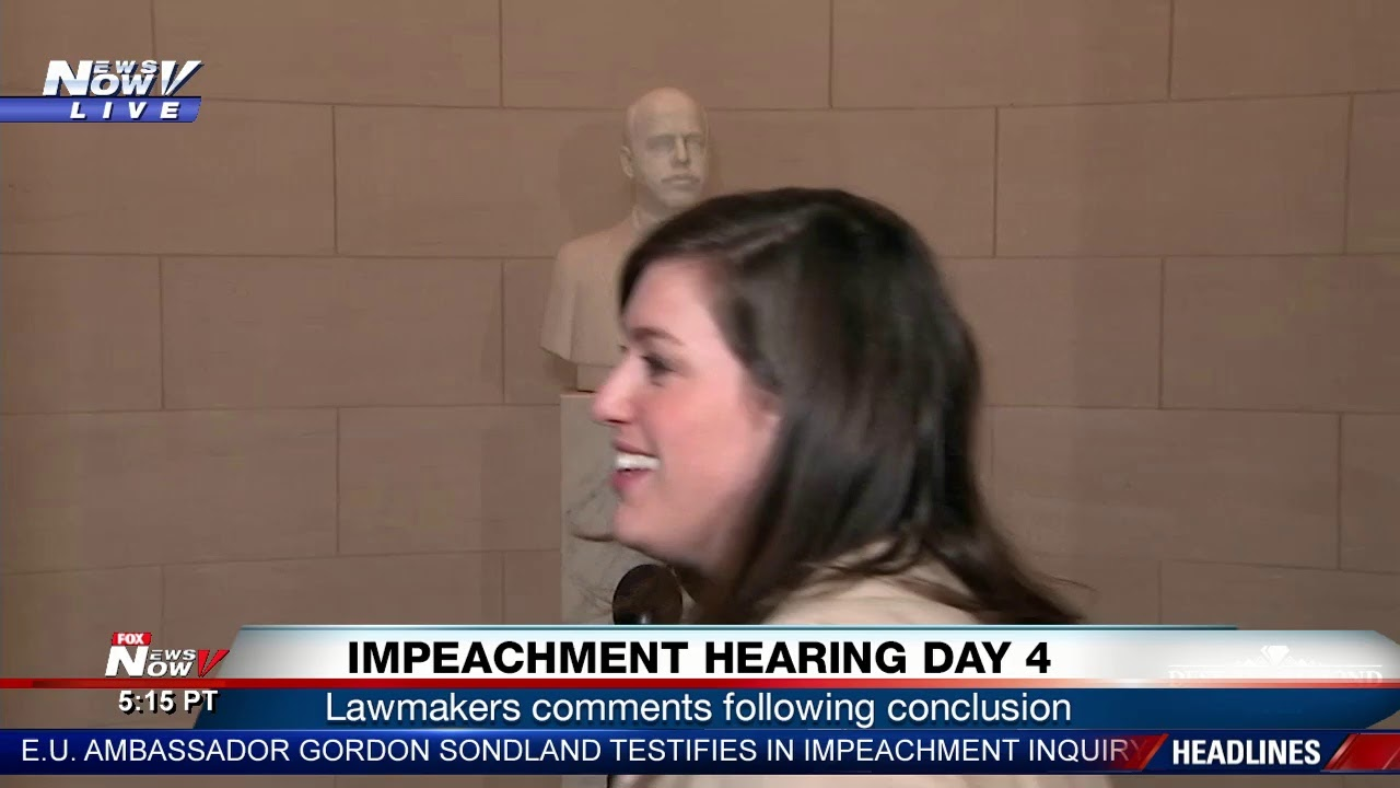 LIVE: President Trump Impeachment Hearing - Day 4
