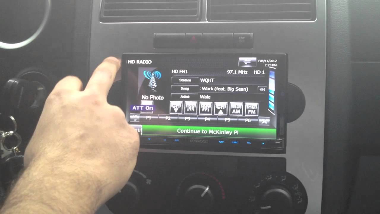 small resolution of 2006 dodge charger srt with kenwood dnx 9980hd