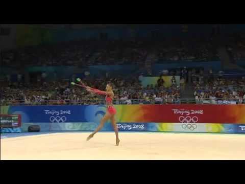Evgenia Kanaeva Beijing 2008 Clubs(videoscop.com)