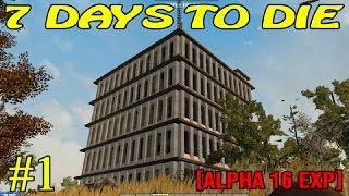 Скачать 7 Days To Die Alpha 16 Начало 1 16
