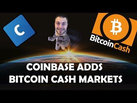 🤜 Coinbase Adding Bitcoin Cash BUY/SELL & TRADE IT! 🤑