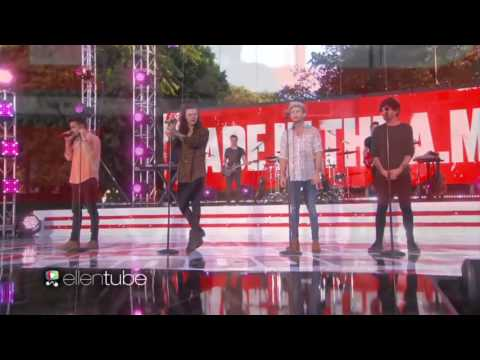 Love You Goodbye - One Direction (The Ellen Show)