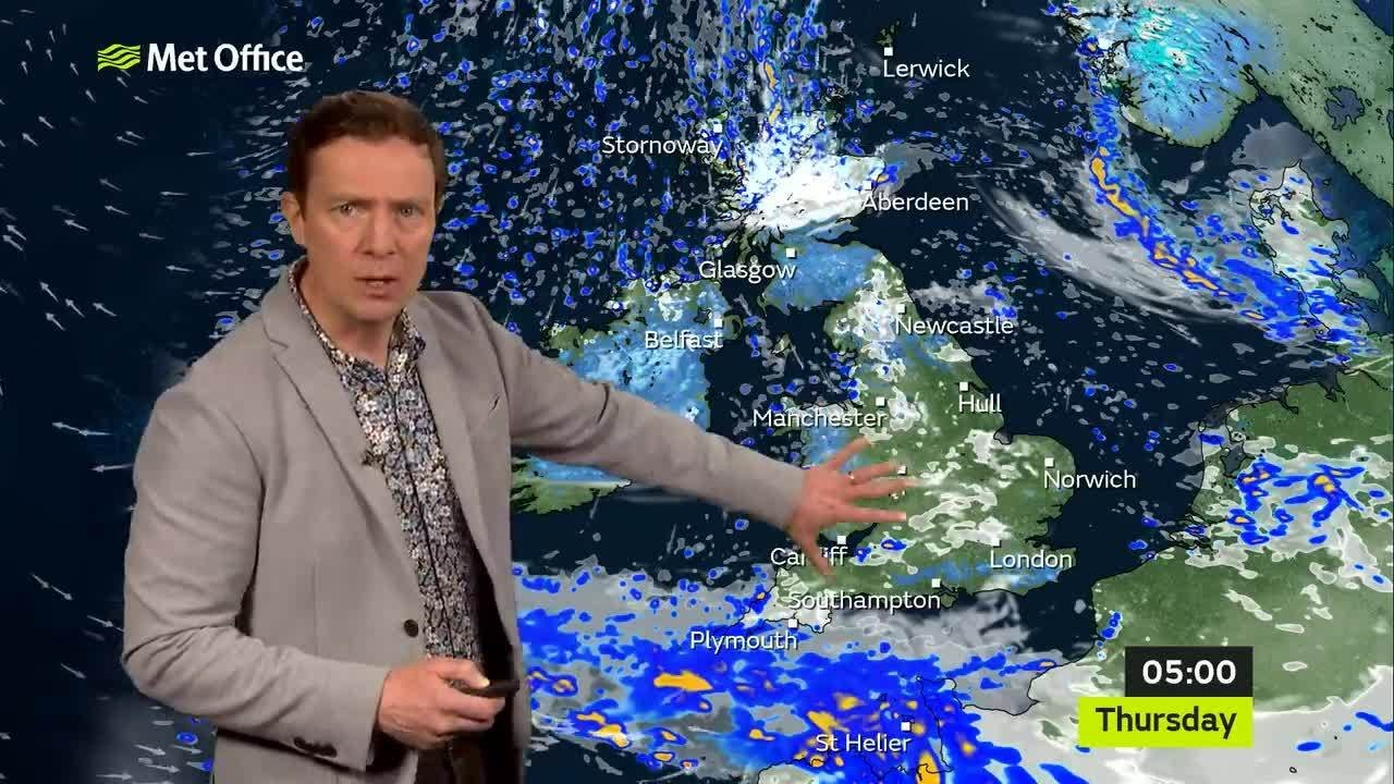 Wednesday afternoon forecast 05/05/2021