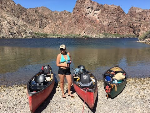 Canoeing the Black Canyon on the Colorado River
