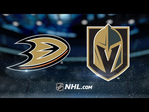 Tuch, Haula lead Vegas to 4-3 SO win against Ducks