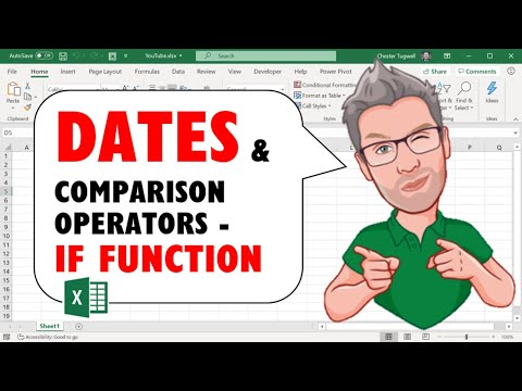 Dates & Comparison Operators In Excel's IF Function