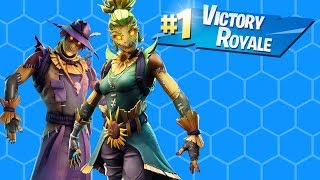 HIGH Kill VICROY WITH NEW HAY MAN SKIN!!! | FORTNITE BATTLE ROYALE SAISON 6 ( AVEC TTVMONKEY10191