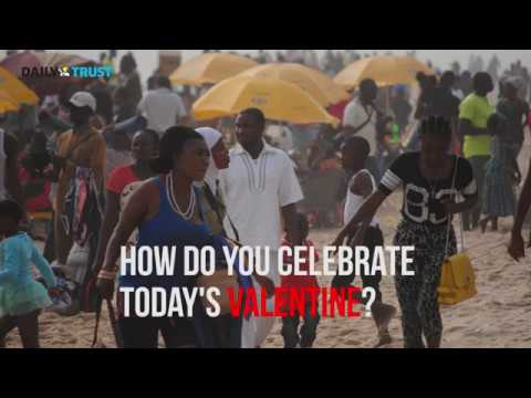 Lagos residents talk on how they mark this year's Valentine's Day