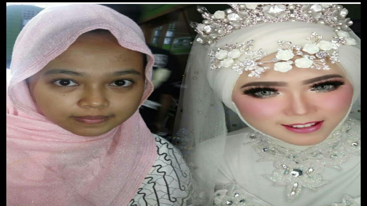 Tutorial Rias Hijab Pengantin Ala Barbie
