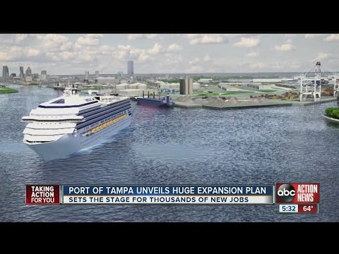 Port of Tampa unveils huge expansion plan
