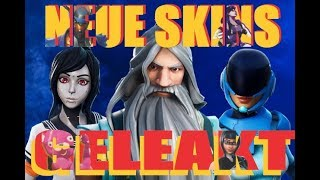 Fortnite - *NEW SKINS GELEAKT* - LIVE EVENT Update - New Style Options and much more