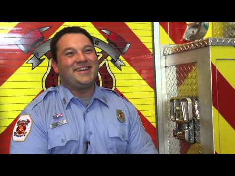 Firefighter in viral 'Happy Feet' photo: I'm just 'an average guy'