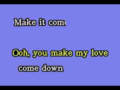 DK037 05   King, Evelyn 'Champagne'   Love Come Down [karaoke]