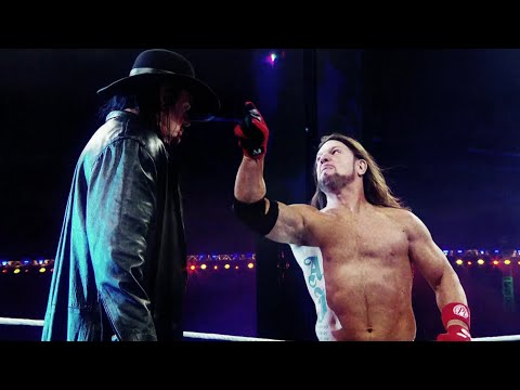 The Undertaker Goes To War With AJ Styles At WrestleMania
