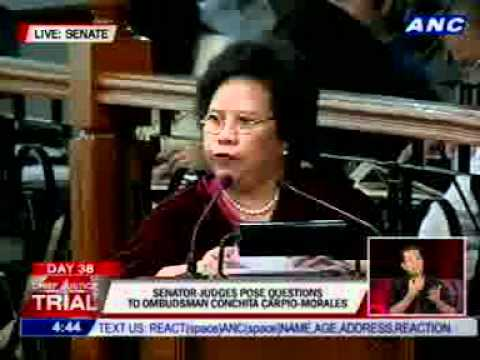 Santiago poses questions to Ombudsman Morales