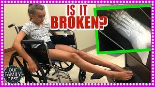 IS IT BROKEN? EMERGENCY X-RAYS! DANCE INJURY :-(