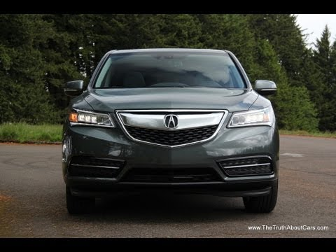 2014 Acura MDX luxury crossover Drive Review and Road Test