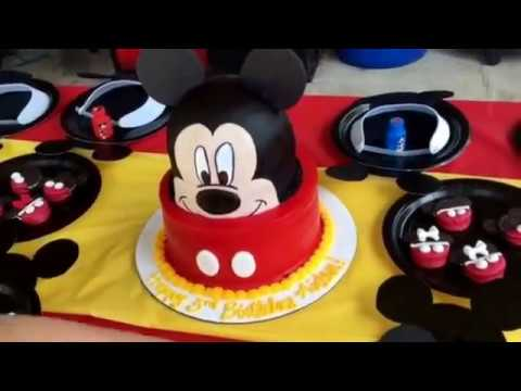 Aidens Mickey Mouse 3rd Birthday Party Pinterest Inspired