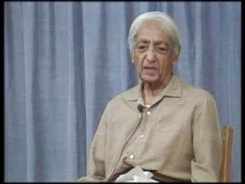 Is illness due to degeneration/abuse of the body? Does it have some other significance? Krishnamurti
