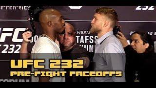 UFC 232 Face-Offs: Jon Jones vs Alexander Gustafsson; Cris Cyborg vs Amanda Nunes