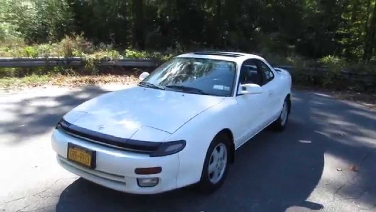 1992 Toyota Celica Gt 5 Spd Walkaround Start Up Tour And Overview
