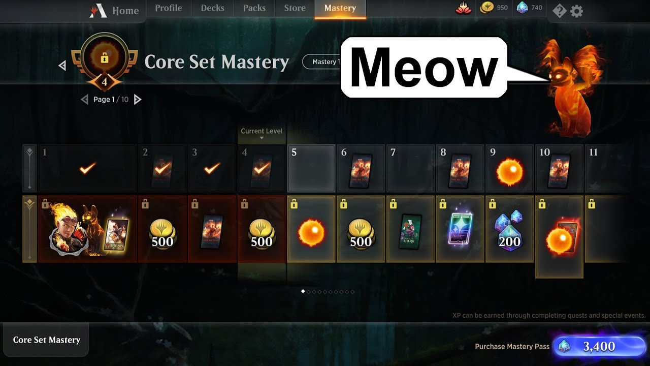 MTG Arena's New Mastery System - Some People are Unhappy