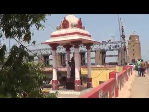Vijayawada-Prakasam Barriage Area Present works Scenario as on 15.07.2016