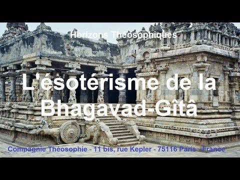 L'ésotérisme de la Bhagavad-Gîtâ